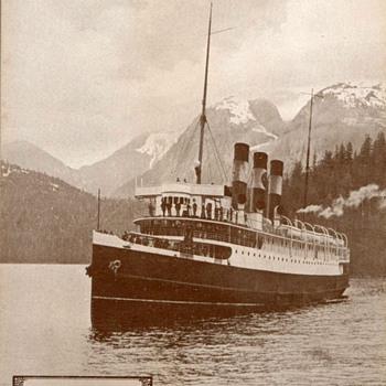 "1917 - Steamship ""Prince Rupert"" Photographs - Photographs"