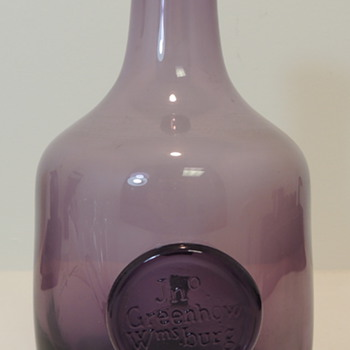 LEERDAM Williamsburg Restoration Bottle - Glassware