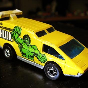 Incredible Hulk Van