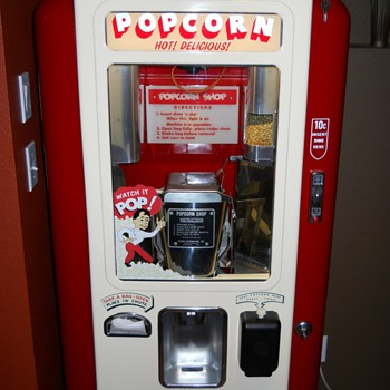 u pop it/minit pop/popcorn shop popcorn machine coin operated - Coin Operated