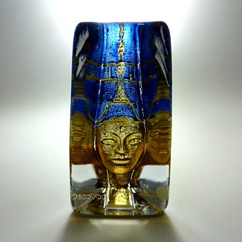 "Kosta Art Glass ""Pharoah""  - Art Glass"