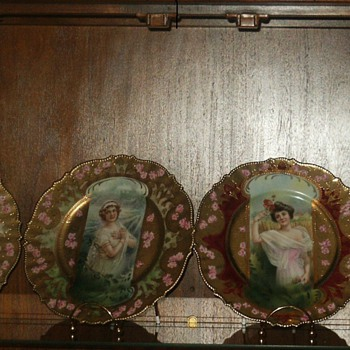 """The Four Seasons"" by RS Prussia, ca. 1905 - China and Dinnerware"