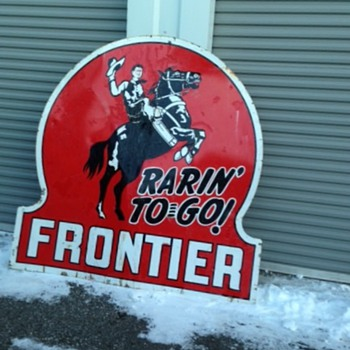 Lucky Frontier Sign - Signs