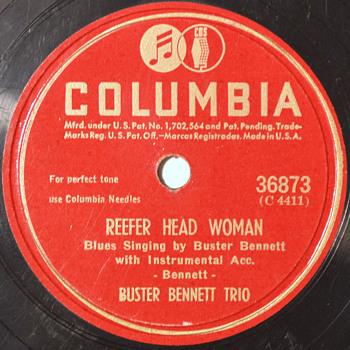 Buster Bennett Trio, 1945 - Records