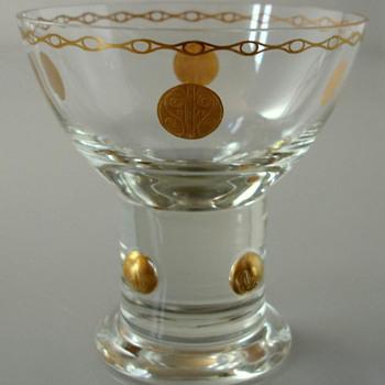 Carl Georg von Reichenbach Secessionist Goblet for Poschinger, Oberzwieselau - Art Nouveau