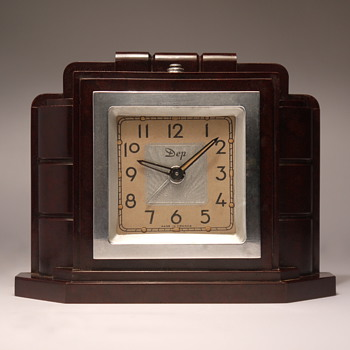 DEP Streamline Art Deco Alarm Clock - Art Deco