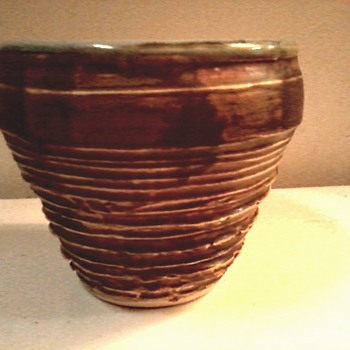 "A Little More ""Lois"" Van Vleet / Cache Pot /Circa 2006 - Pottery"