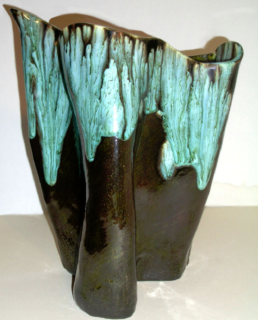 Oil slick drip glaze studio pottery vase bill ferg collectors oil slick drip glaze studio pottery vase bill ferg collectors weekly reviewsmspy
