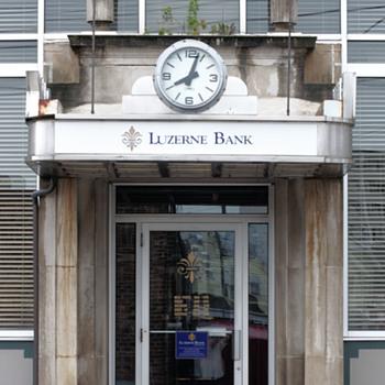 Luzerne Bank, Luzerne, PA - Art Deco