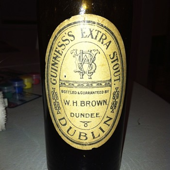 Early Guinness bottle