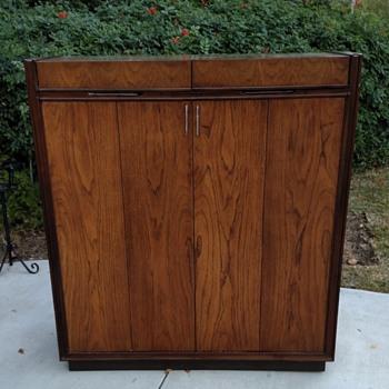 Vintage Gentlemen's Cabinet - Mid-Century Modern
