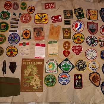 Saturday Evening Scout Post Basdges and Patches and Stuff - Medals Pins and Badges