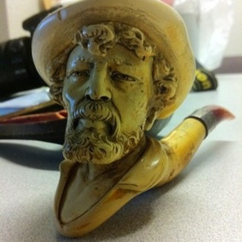My Old (at least 150 yrs old) Meerschaum Pipe - Tobacciana