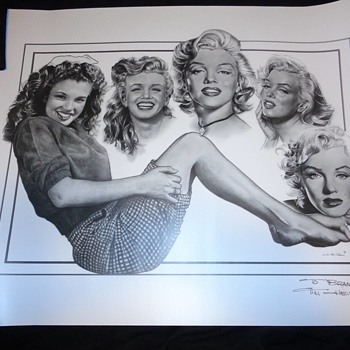 Local artist: Marilyn Monroe - Posters and Prints