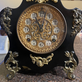 Antique ansonia clock  - Clocks