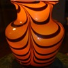 Swirled Glass Vase
