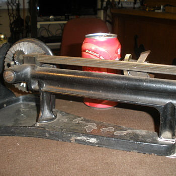 another early pencil sharpener pat. 1890 - Office