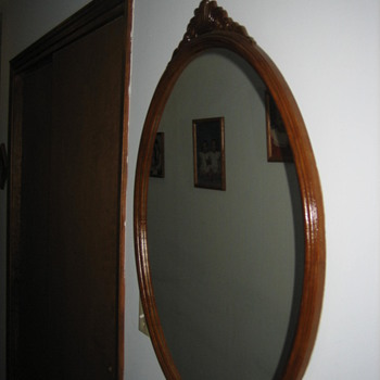 Black Walnut Mirror