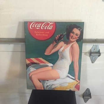 Coca-Cola Wooden Paintings??? - Coca-Cola
