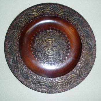 Grandmother's Wooden Dish - China and Dinnerware