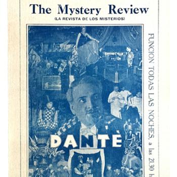 "Original 1932 Dante The Magician ""Buenos Aires"" Broadside"