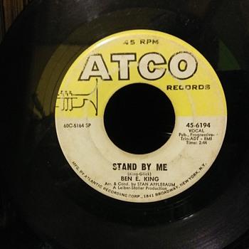 No..Not Benny King...Ben E. King...On 45 RPM Vinyl - Records