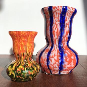 Czech glass - in sizes - Art Glass