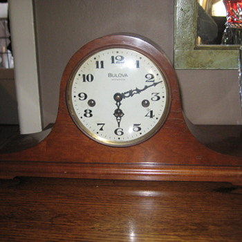 West Germany made Bulova mantel clock - Clocks