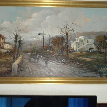1960's dutch impressionist painting signature help - Fine Art