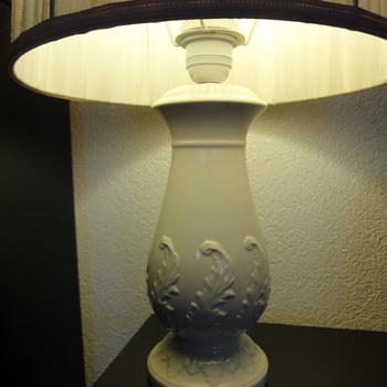 Antique Wedgewood Lamp - Pottery