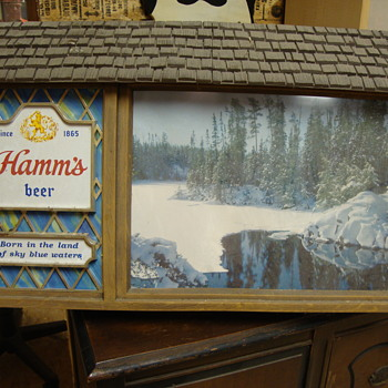 Hamm's Beer Sign From the 1970's..... - Breweriana