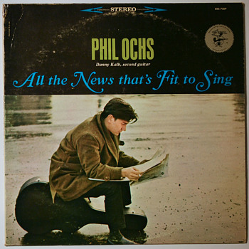 Difficult Listening 24 - Phil Ochs - Records