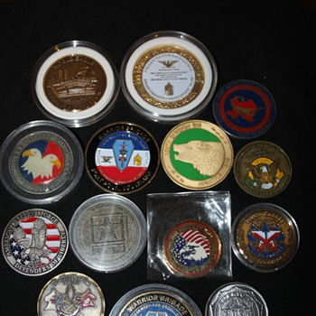 US Army Challenge Coins