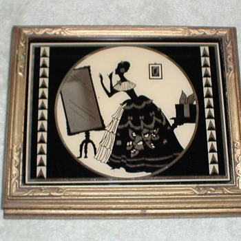Silhouette Mirror Jewelry Box - Fine Jewelry