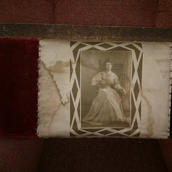 My Great Aunt on Fabric WWI ERA - Photographs