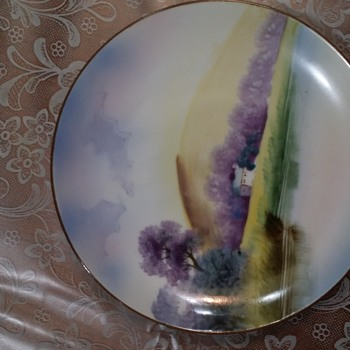 My Favorite Nippon Collectible plate - China and Dinnerware
