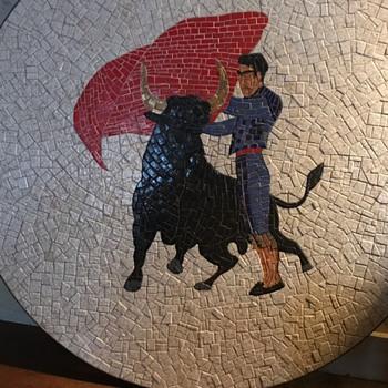 Mosaic tile - Furniture
