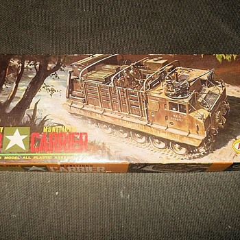 Aurora M8 Munitions Carrier Box Only 1958 - Military and Wartime