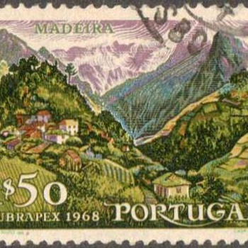 "1968 - Portugal ""Madeira"" Postage Stamp - Stamps"