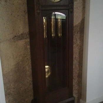 Grandfather Clock German Made circa 1912 - Clocks