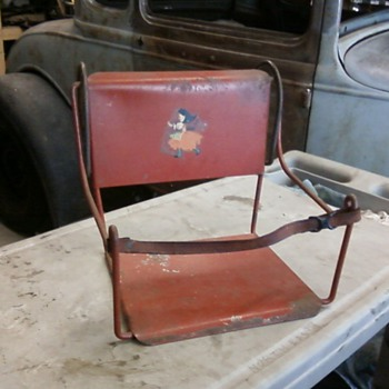 Early 1900's Child's Car Seat - Classic Cars