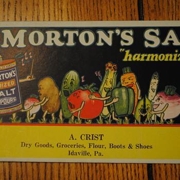 Morton's Salt Ink Blotter - Office