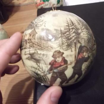 Vintage Christmas Ornament - Christmas