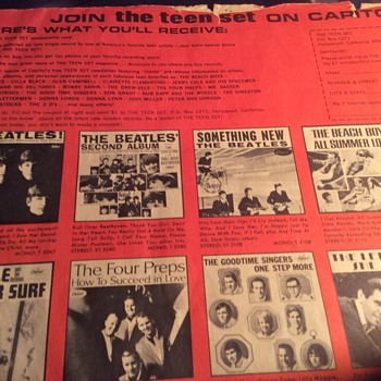 Nothing up my (record ) sleeve  - Records