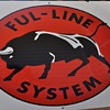 Ful - Line System porcelain sign