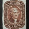 1865   5 cent US stamp find