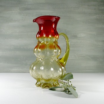 Who made this pitcher? - Glassware