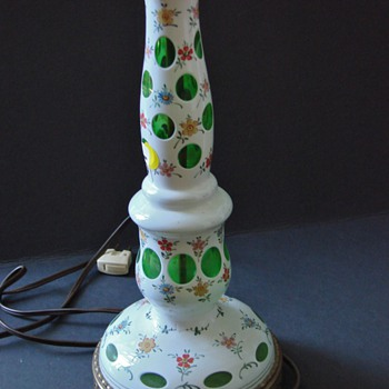 MYSTERY FLORAL COIN DOT LAMP BASE - Lamps