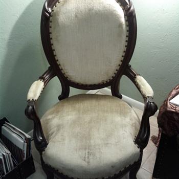 Victorian Gentleman's Chair of Yet-Undetermined Style/Revival Period - Victorian Era