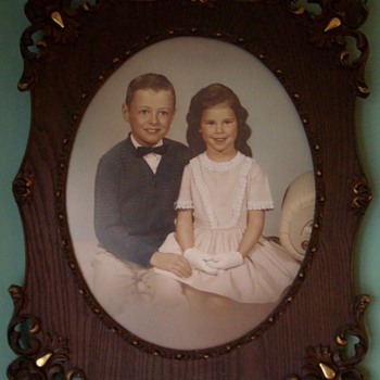 1870's picture frame - Photographs